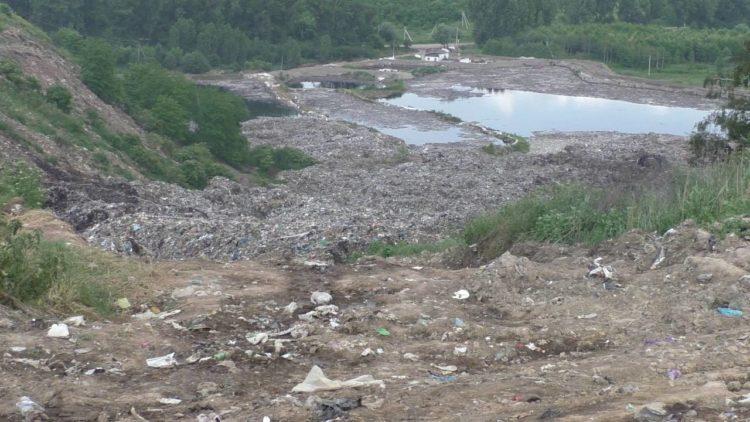 На Грибовичах розпочали очистку фільтратного озера
