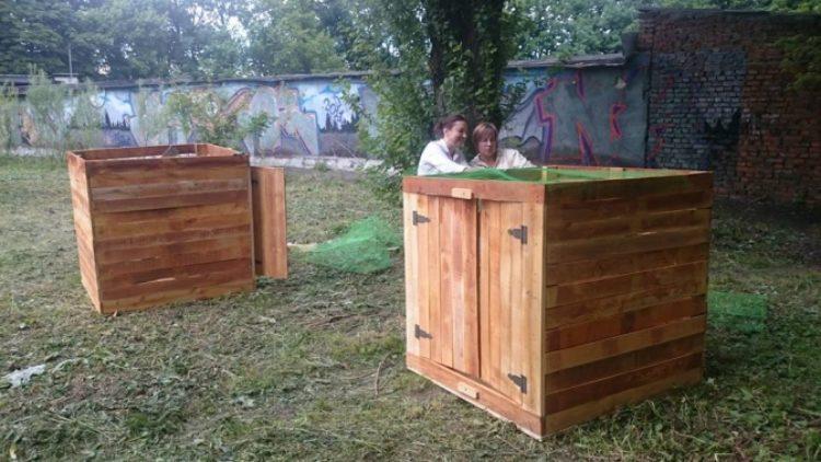 У Парку культури встановили компостер для переробки органічних відходів