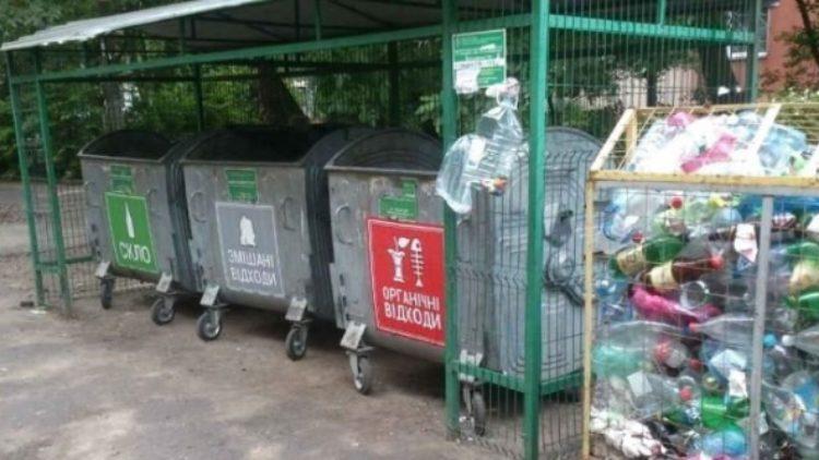Законопроект: українців штрафуватимуть на 850 грн за викинуте за межі контейнера сміття