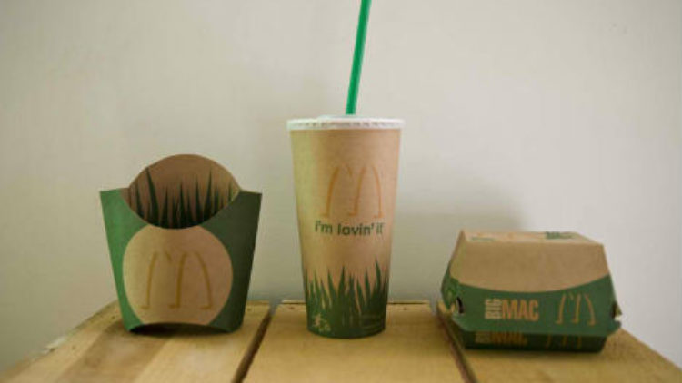 McDonald's повністю перейде на упаковку з вторсировини