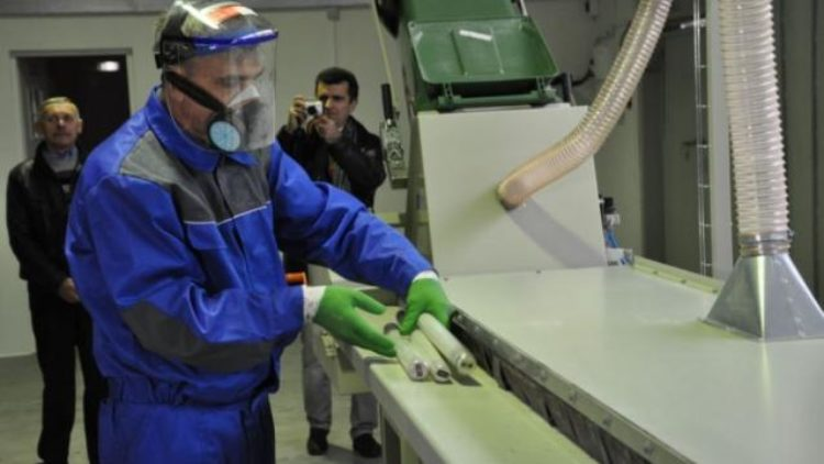 Завод по переробці ртутних ламп у Львові